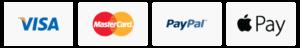 paypal visa mastercard applepay